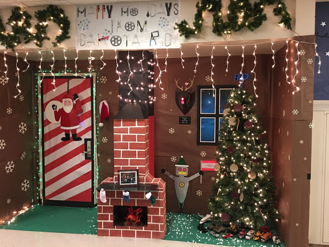door decorating contest - Christmas Decorating Contest